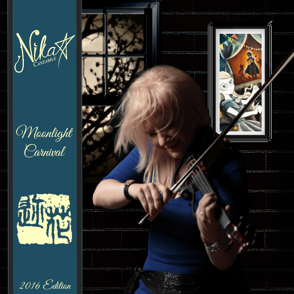 Moonlight Carnival Art Cover - 2016 Edition - Blue