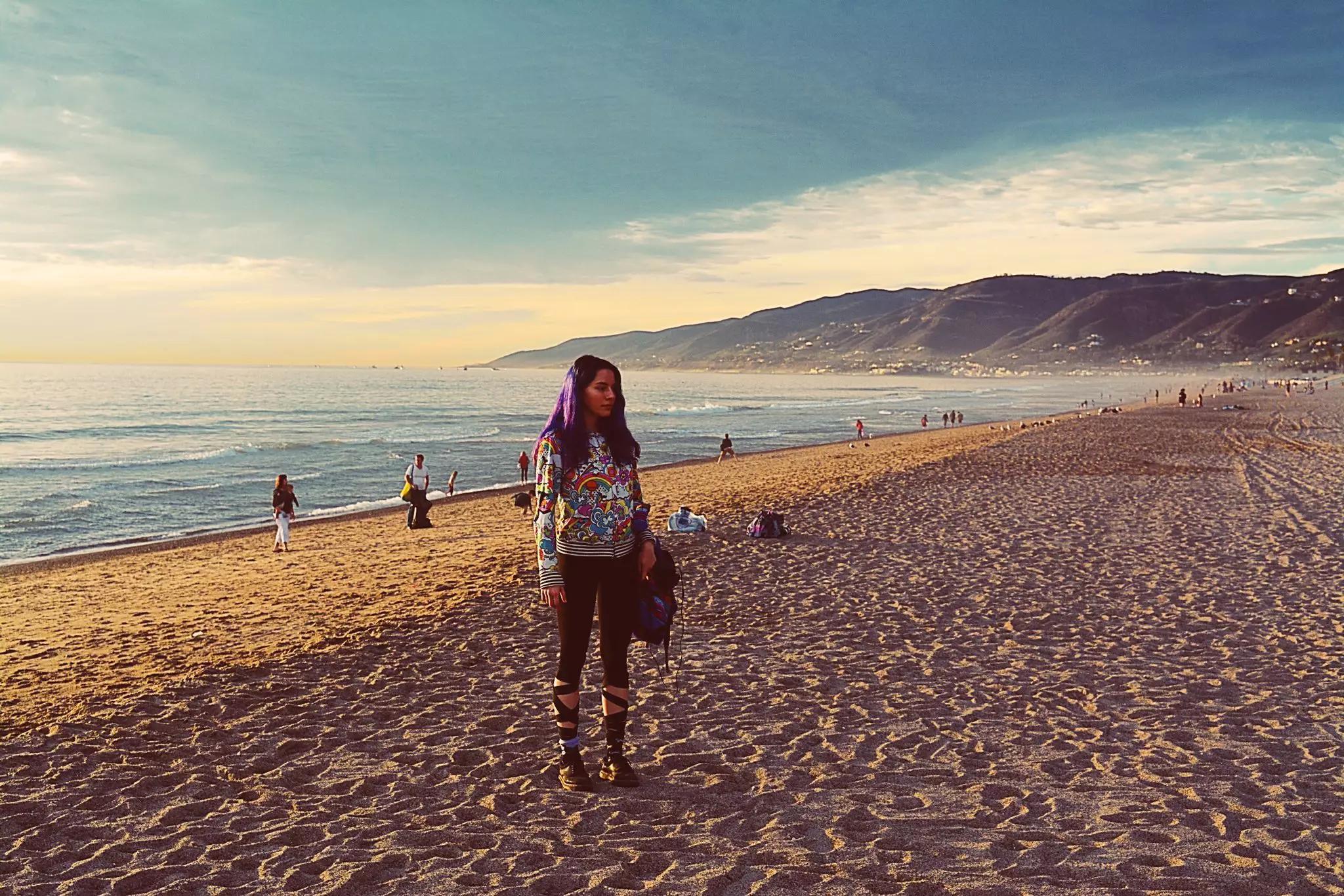 Meresha-on-Zuma-Beach-Dec-2016