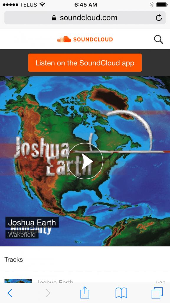 Artist Interview: Joshua Earth