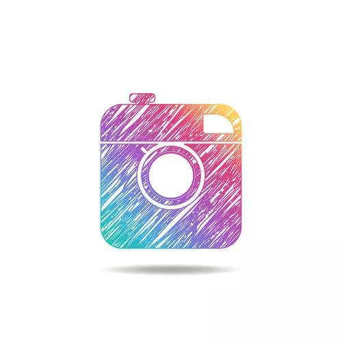 Vintage Instagram logo
