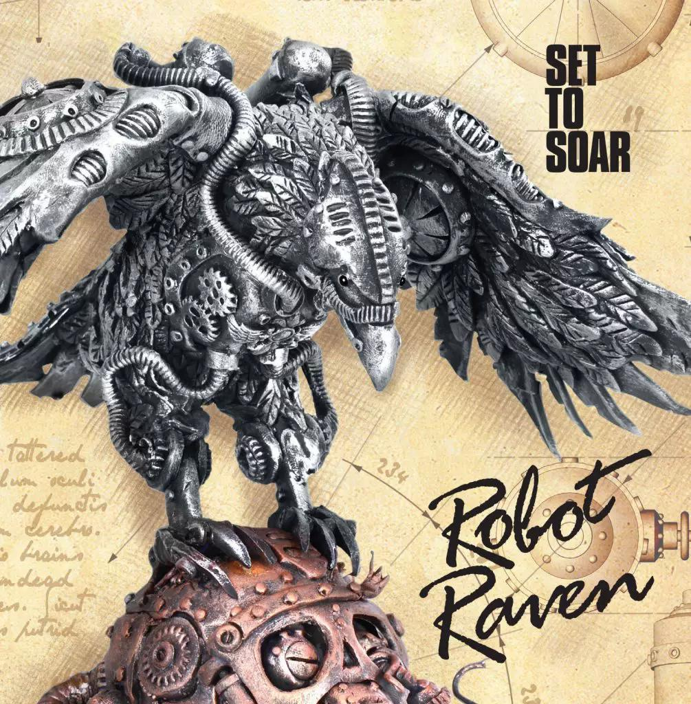 Robot Raven Release of 'Set To Soar' New Album Out Now