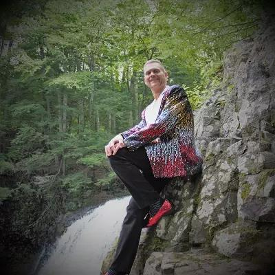 Nice pic standing waterfall
