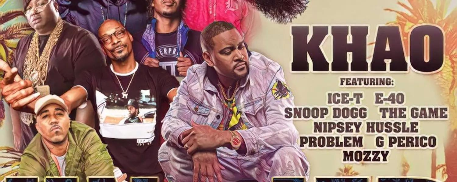 """Platinum Producer Khao Drops """"Unified,"""" a New Single Featuring Both  Rising and Legendary Rappers, Including Nipsey Hussle with a Poignant Lyric"""