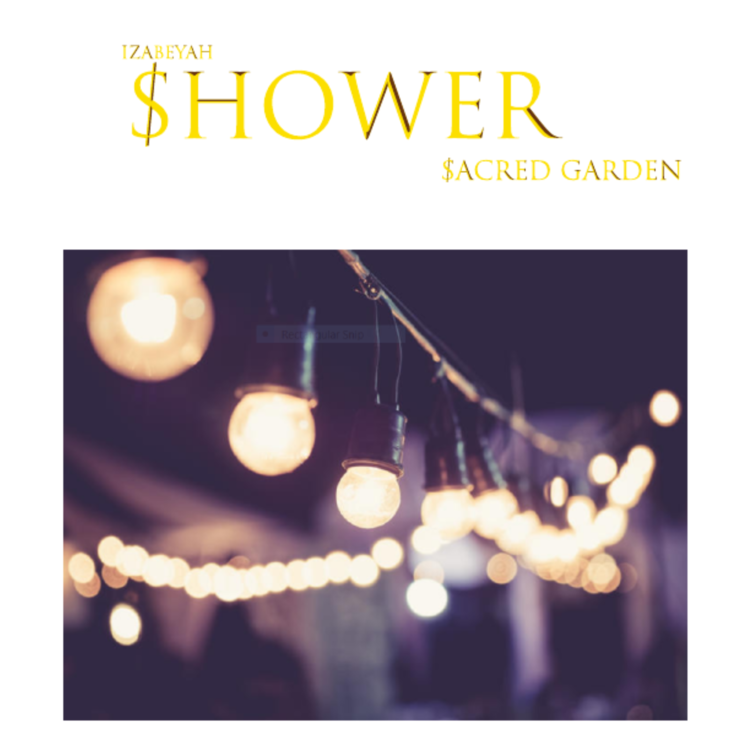 """Izabeyah's Shower new album, """"Sacred Garden"""" is going to be a new vibe for music listeners."""