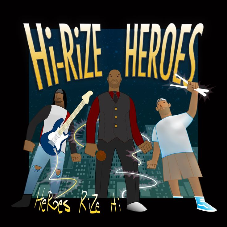 Heroes Rize Hi  is a fusion of varies different genres, with lyrics that will cause you to think and open your mind.
